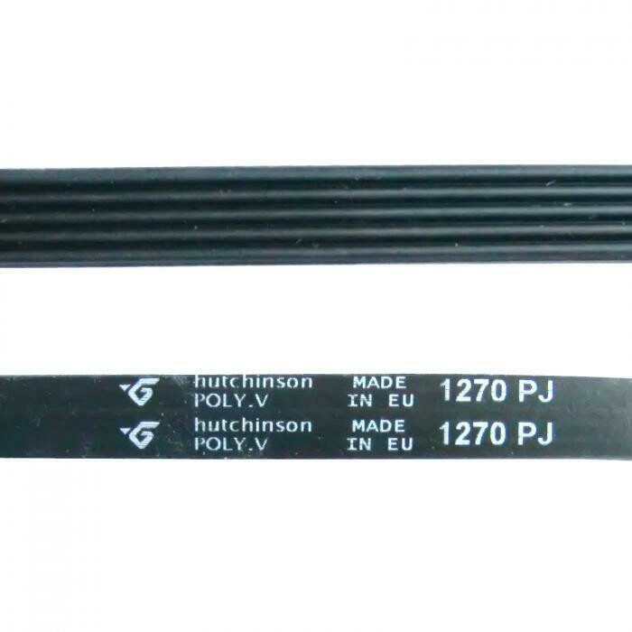 Ремень 1270 J5 hutchinson чёрный J487