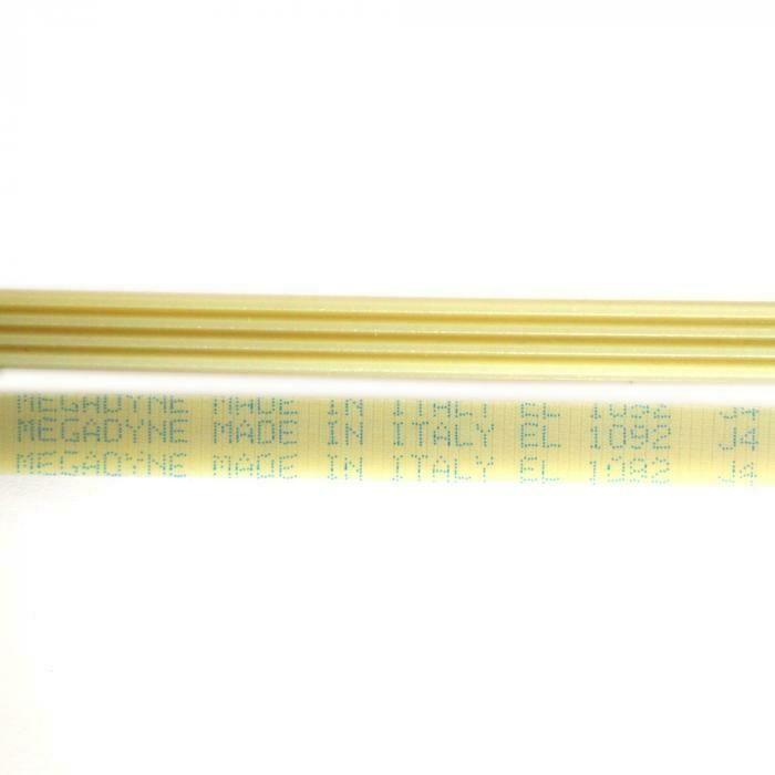 Ремень 1092 J4 L-1013 мм, белый J049