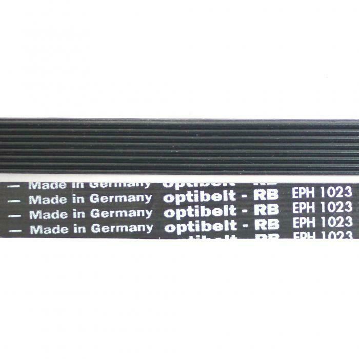 Ремень 1023 H8 длина 985 мм, черный H024