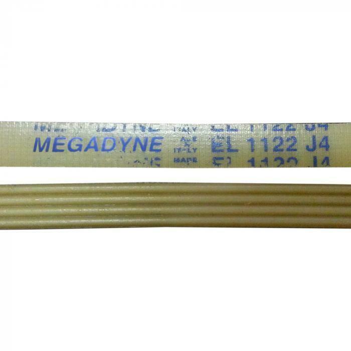 Ремень приводной 1122 J4 L-1075 мм, белый, megadyne J115