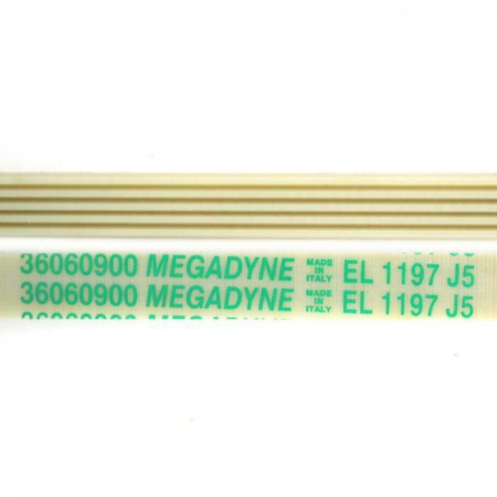 Приводной ремень 1197 J5 1155 мм, белый J180
