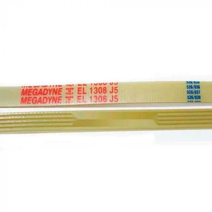 Приводной ремень 1308 J5 EL Megadyne белый J999