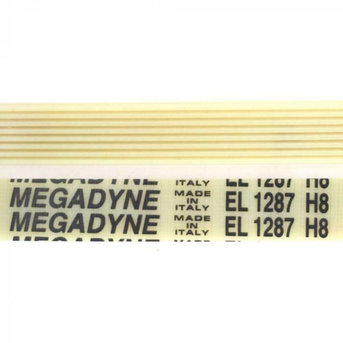 Ремень барабана стиральной машины 1287 H8 белый H343