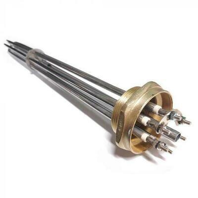 """Блок ТЭНов KFL 12 кВт G 2"""" (59 мм) 55 см нержавейка 68612P"""