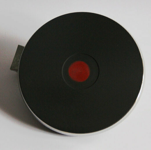 Электроконфорка D145mm 220v 1000Вт с ободом и терморегулятором мощности