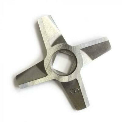 Нож Zelmer №8 с квадратным отверстием под шнек мясорубки h1030