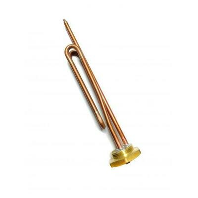 Медный ТЭН Электролюкс, Аристон, Реал RCT 2.5 кВт, длина 285 мм, резьба фланца 4.2 см 30259