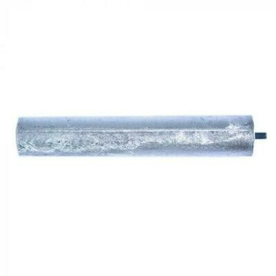 Анод магниевый длина 145 мм, диаметр 25 мм, шпилька 10 мм, резьба M5