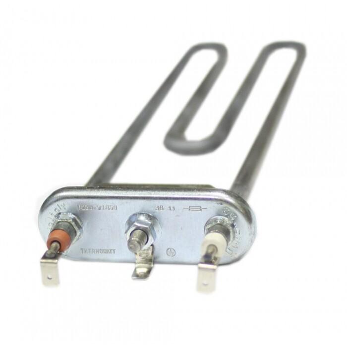 ТЭН для стиральной машины Whirlpool 1850 Вт (прямой, без отверстия, L=240, R13, M170) 3406103