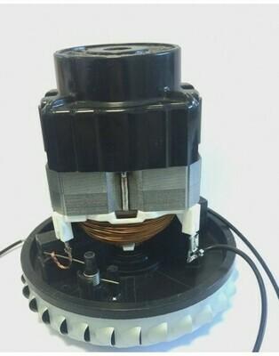 Двигатель пылесоса 1000W низкий одностадийный (моющий)  H=126 мм,  D=120 мм