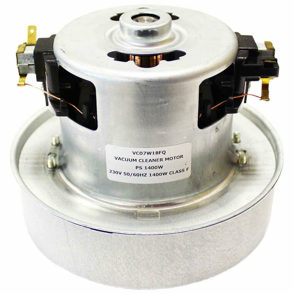 Пылесос Двигатель 1600W универсальный,  D=130mm низкий H=112mm с кольцом