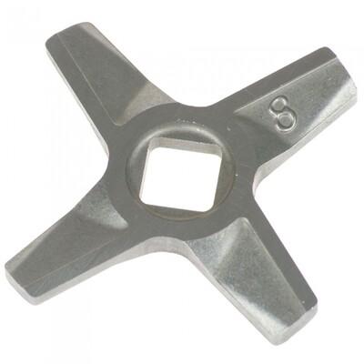 Нож мясорубки BOSCH 632543, 755472 №8 отв. 9mm, лезвия 56mm ориг. MGR105BO