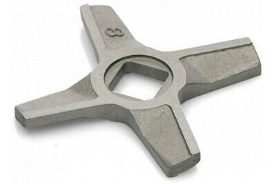 Нож мясорубки Zelmer, BOSCH, двухсторонний (10003883,755469, 632543, 755472)