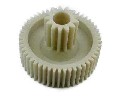 Шестерня D = 42 мм, количество зубьев - 50 шт., тип зубьев: прямой. d = 16 мм, для мясорубки Помощница PM003