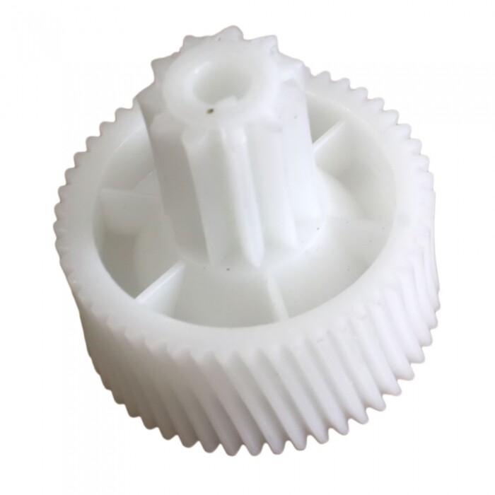 Шестерня мясорубки MOULINEX 11 прямых и 50 косых зубьев, белая, D=42/17 H=40/19mm, MS031