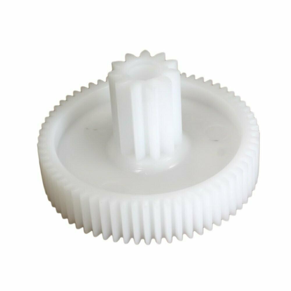 Шестерня мясорубки Помощница средняя, пластик. D=66/20mm, 65/11 зубьев, прямой