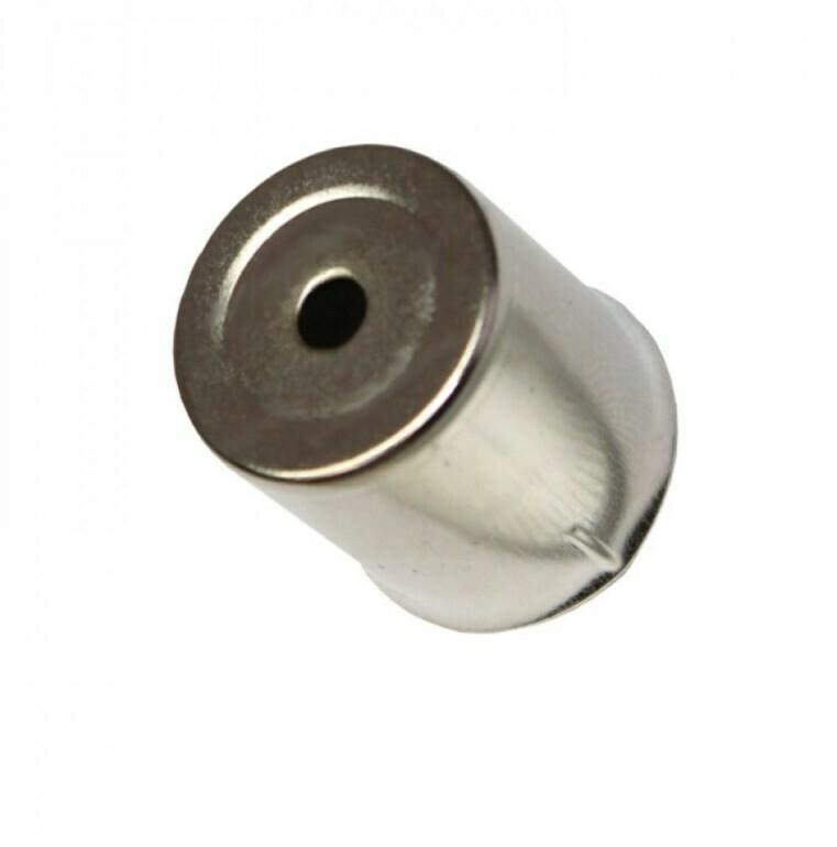 Колпачек магнетрона, d=15 мм, круглое отверстие
