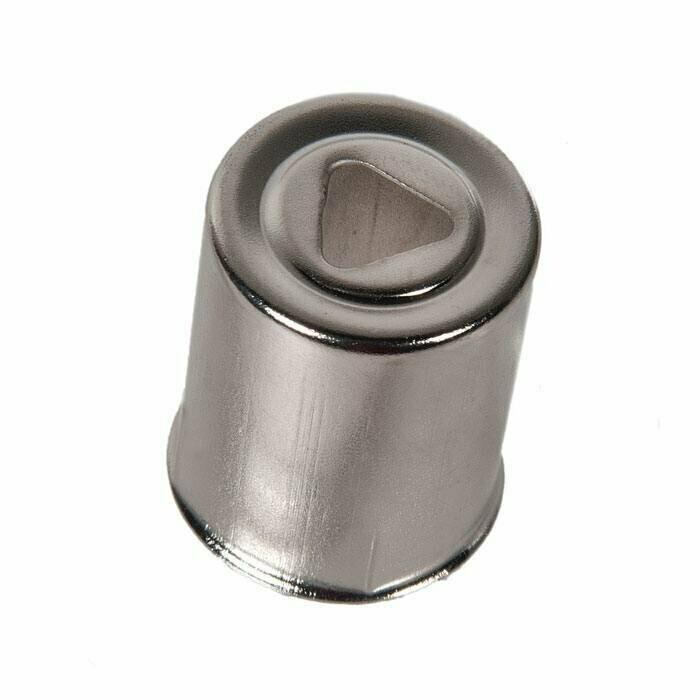 СВЧ Колпачок от магнетрона к СВЧ 15mm (треугольное отверстие) SVCH046