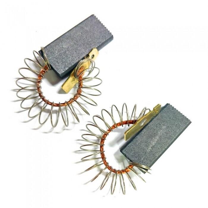 Щетки электродвигателя 5x12,5x30, 2шт, SMC с пружиной