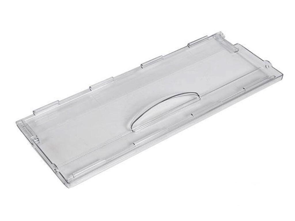 Панель ящика холодильника Атлант-Минск, прозрачная  H=180 мм, L= 465 мм