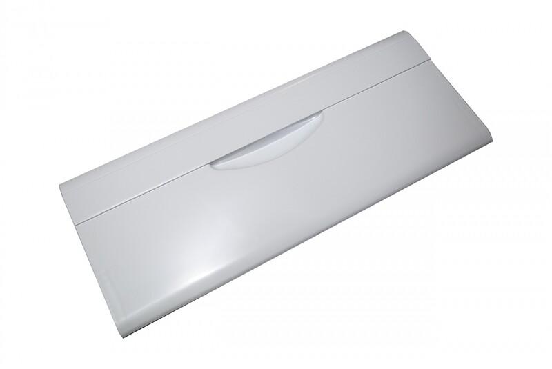 Панель ящика холодильника откидная Атлант-Минск, белая, H=185 мм, L= 470 мм, код 301540103800