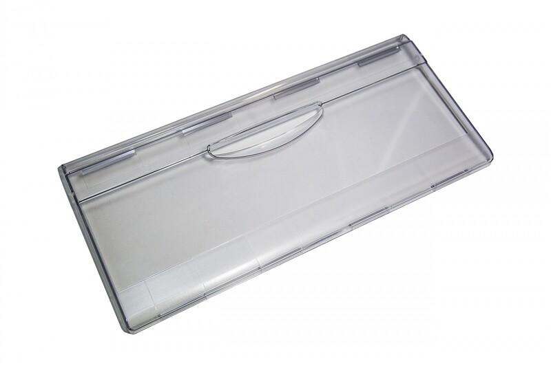 Панель ящика холодильника Атлант-Минск, прозрачная, H=210 мм, L= 465 мм