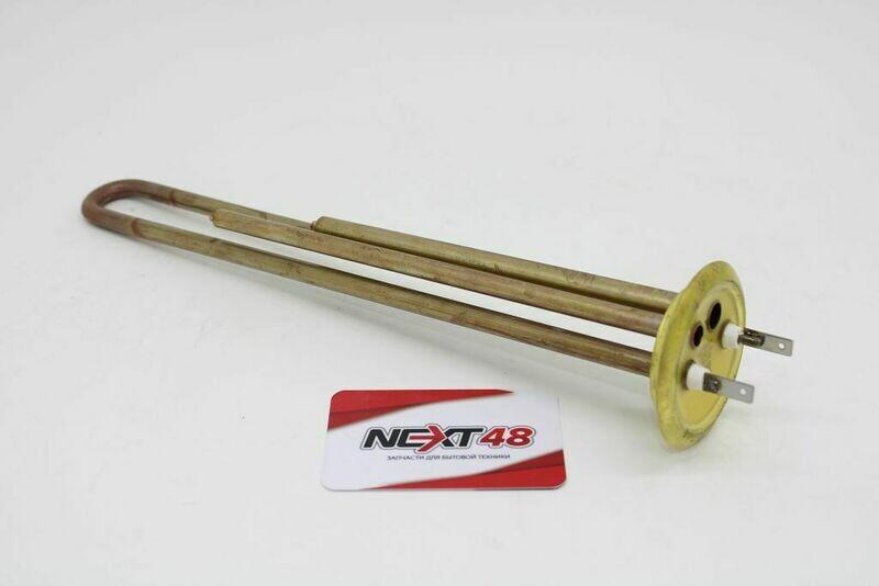 ТЭН RF 1300W, TW PREMIUM, медь, Ø64мм, М4, клеммы под разъем, L305мм, латунный фланец, 220V