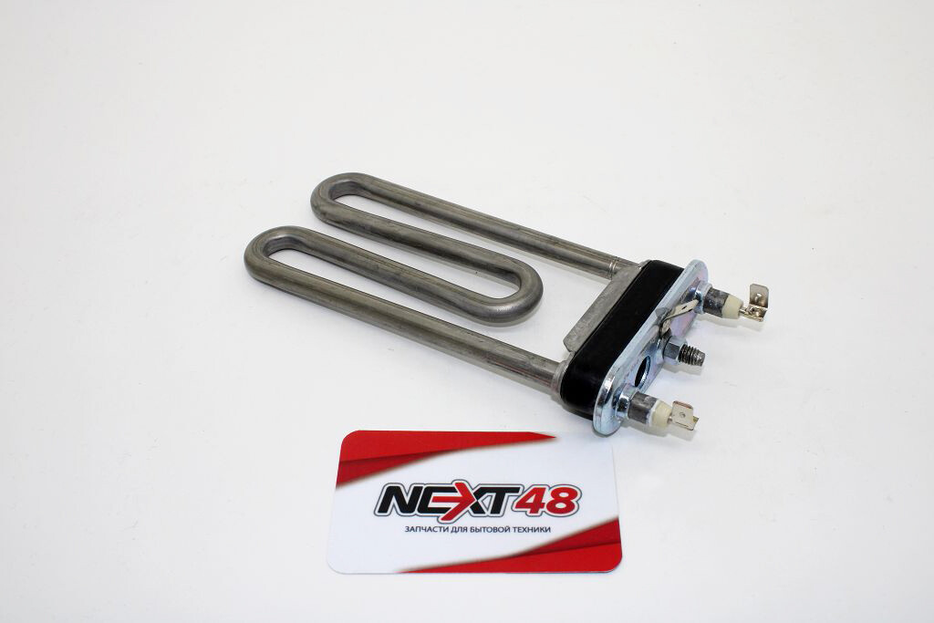 Тэн 1460W, INDESIT 299508, прямой с отверстием,  150x110mm, THERMOWATT HTR011ID