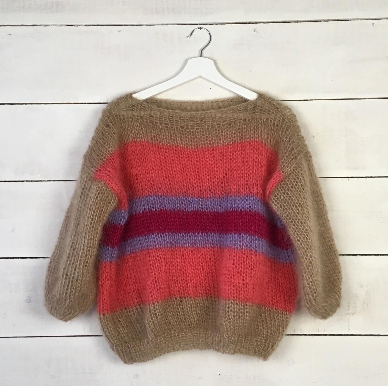 4 kleuren trui