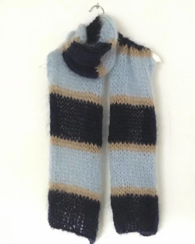 Sjaal - kid mohair