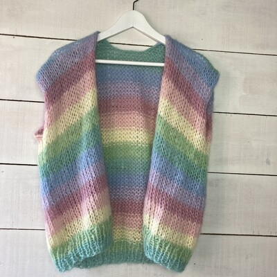 Gilet Louise - multicolour