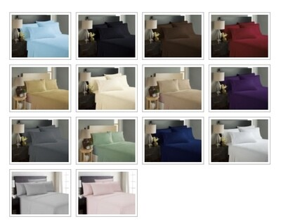 1800 Count Bedsheets