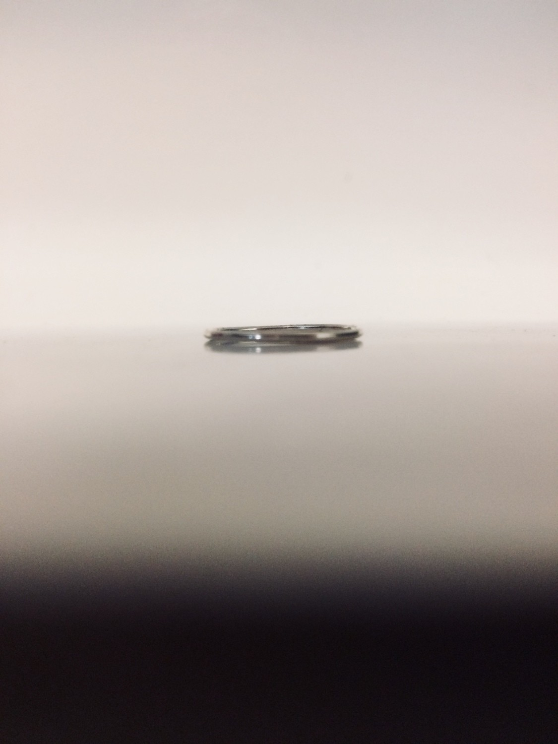 Sterling Silver Toe Ring - Thin (1 mm)
