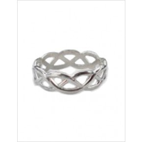 Sterling Silver Ring - Celtic Weave