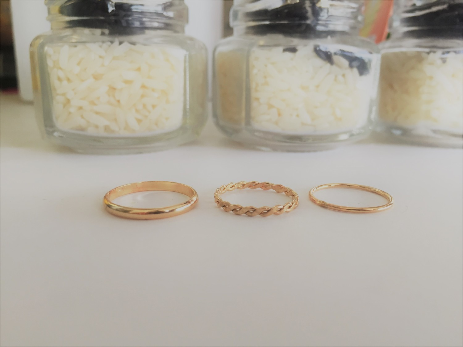 Gold Filled Toe Ring - Braid