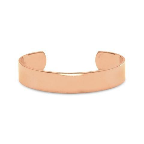 Cut Out Solid Copper Cuff/Bracelet