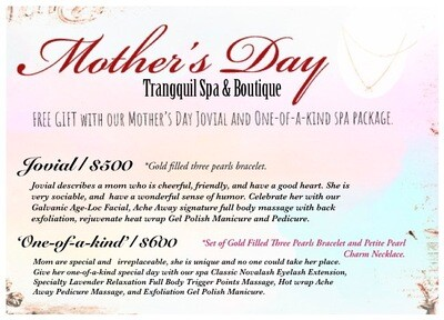 Mother's Day Spa Package: Jovial