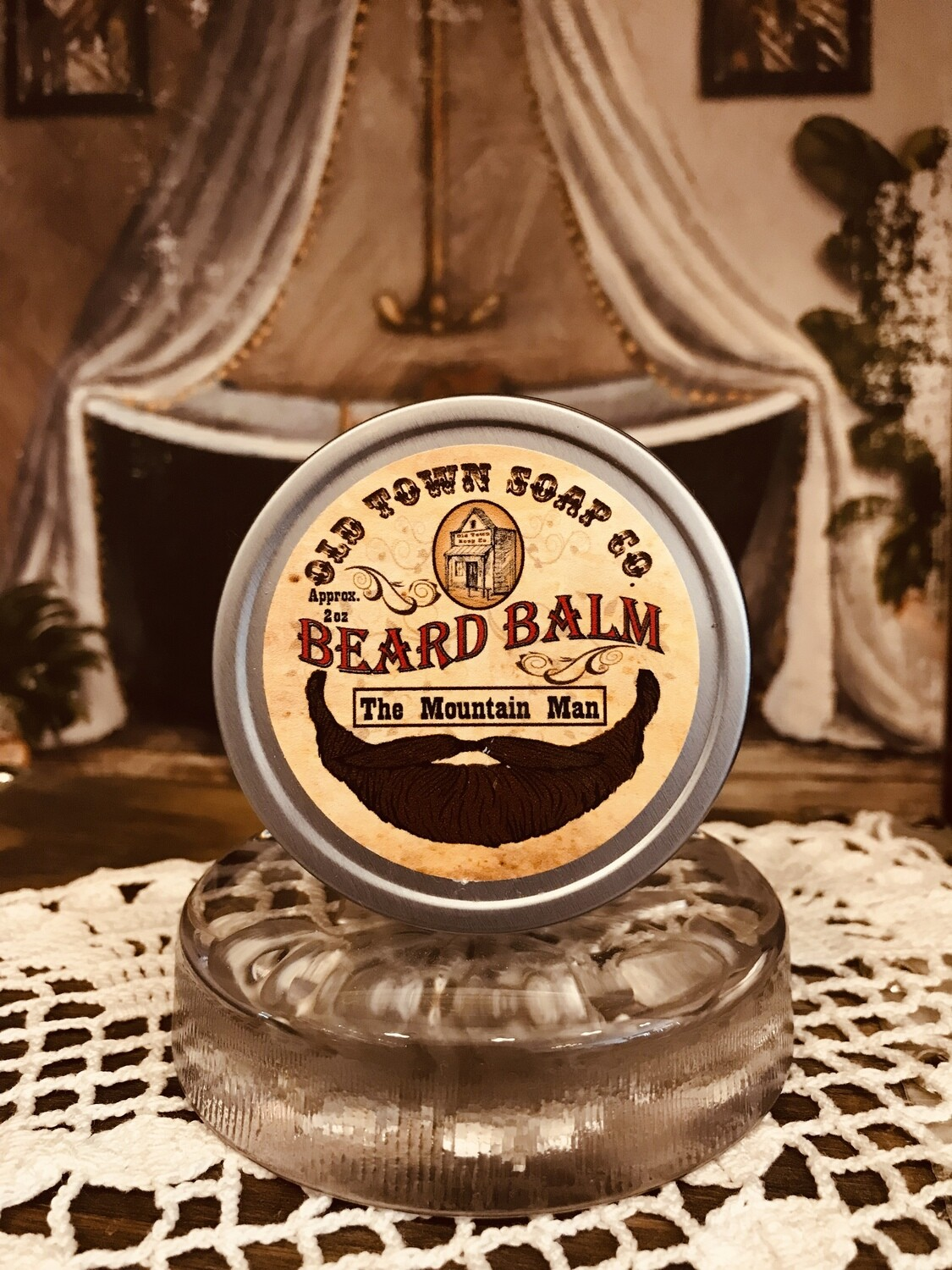 The Mountain Man -Beard Balm