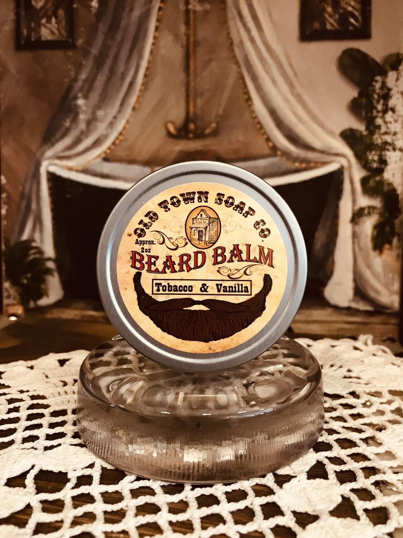 Tobacco & Vanilla -Beard Balm