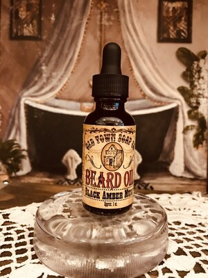 Black Amber Musk -Beard Oil