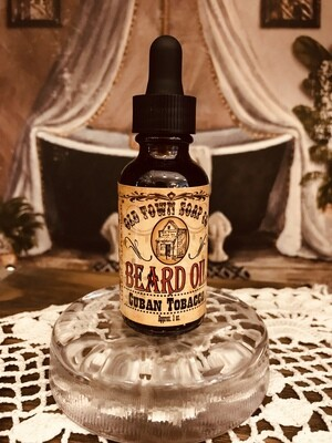 Cuban Tobacco -Beard Oil