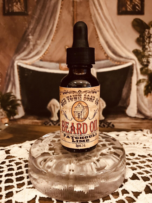Patchouli & Lime -Beard Oil