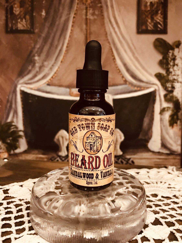 Sandalwood & Vanilla -Beard Oil