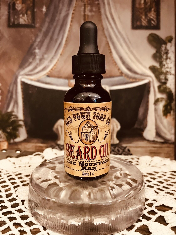 The Mountain Man -Beard Oil