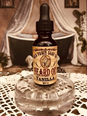 Vanilla -Beard Oil