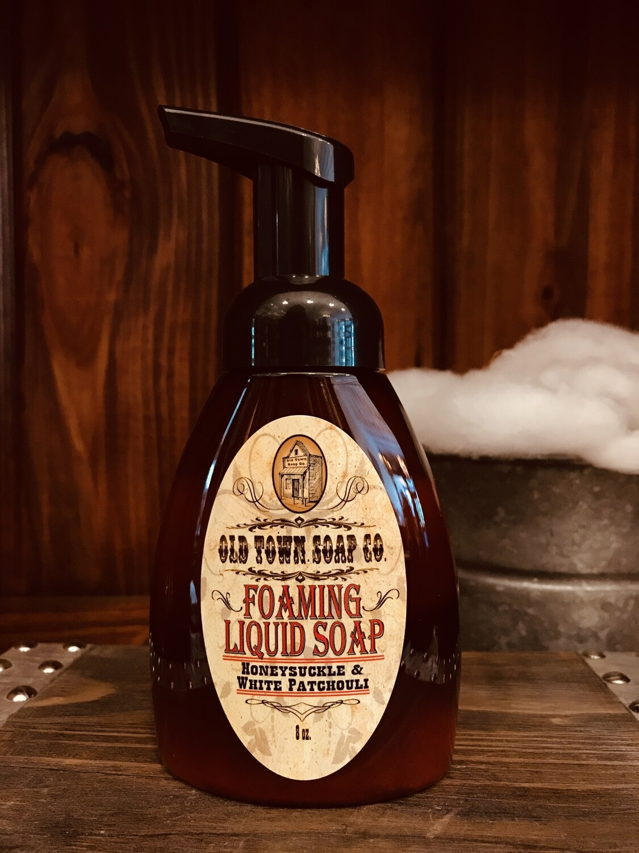 Honeysuckle & White Patchouli -Pump Liquid Soap