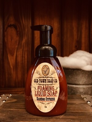 Bamboo Cypress -Pump Liquid Soap