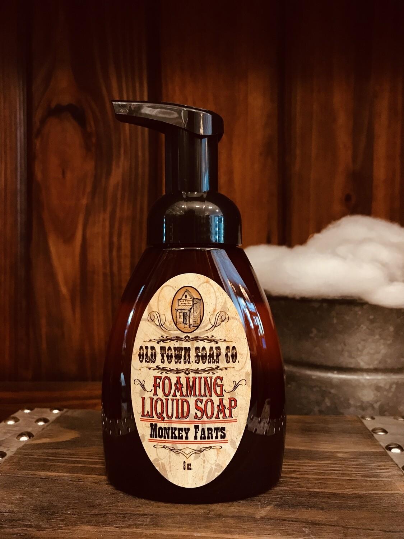 Monkey Farts -Pump Liquid Soap