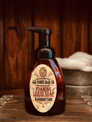 Blackberry Sage -Pump Liquid Soap