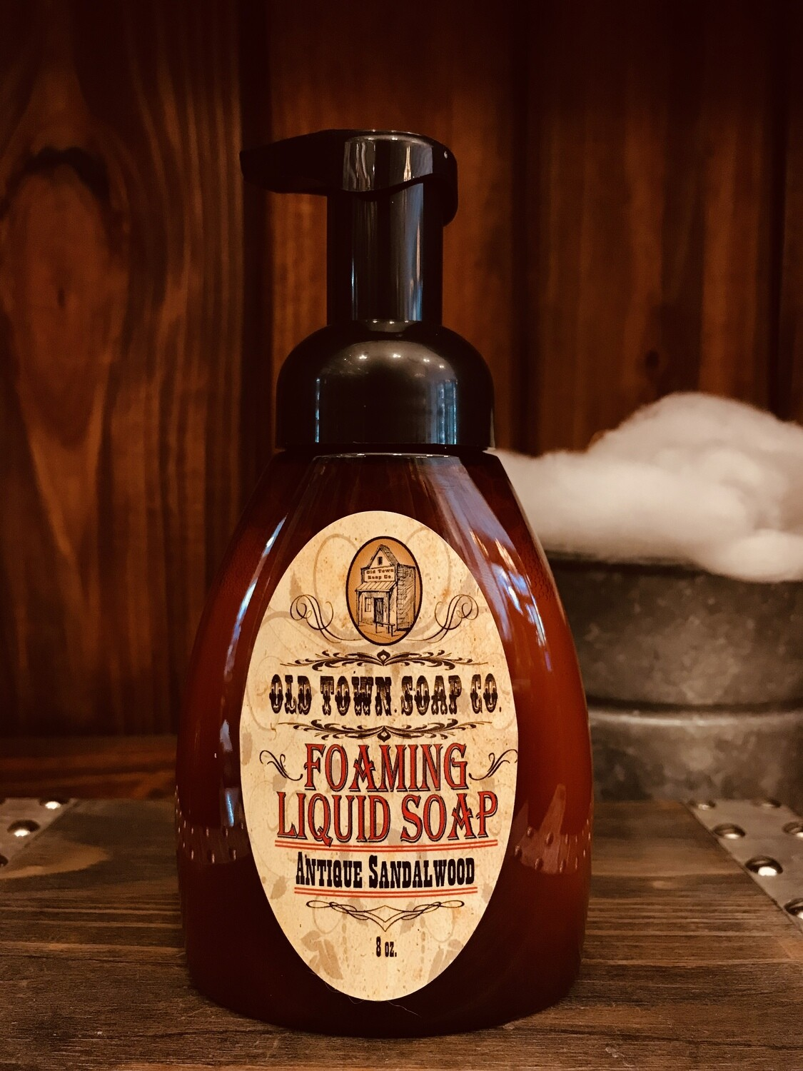Antique Sandalwood -Pump Liquid Soap